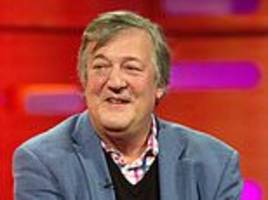 stephen fry´s prostate cancer diagnosis ´caused spike...