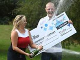wife, 28, scooped £1m on euromillions hotpicks three weeks after pranking her husband