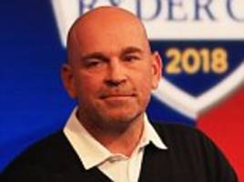 Thomas Bjorn stands up for his Ryder Cup veterans