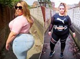 size 22 woman from gateshead says she's fitter than slimmer friends