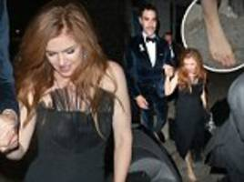 isla fisher and sacha baron cohen attend gq men of the year awards