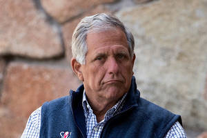 cbs board in negotiations for ceo les moonves to exit company