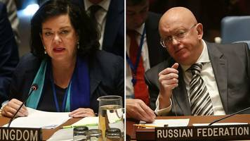 uk and russia trade blows at the un