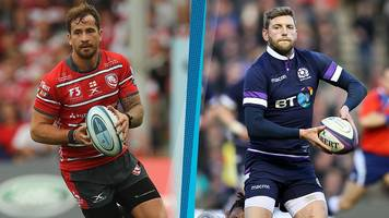 rugby union weekly ask whose pass was better, finn russell's or danny cipriani's?