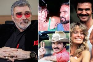 burt reynolds regretted womanising past and revealed all about aids rumours, charlie sheen and james bond