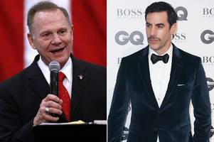roy moore sues sacha baron cohen for $95 million over who is america? prank