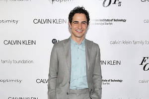 zac posen out at 'project runway' along with heidi klum and tim gunn