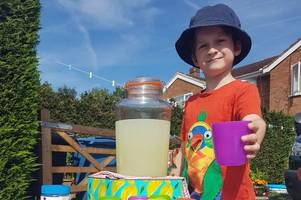 meet the camberley six-year-old 'fundraising eco-warrior' doing all he can to raise money for homeless