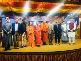 dlf foundation and save the himalayas foundation co-organize 1st international conference; saving himalayas through science and spirituality