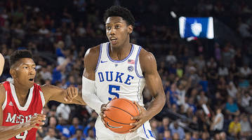 top 2018 recruit r.j. barrett poised to lead a duke team brimming with young talent