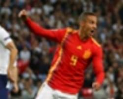 england 1 spain 2: luis enrique off the mark after comeback victory