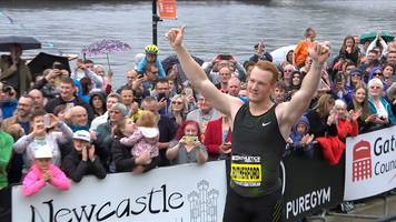 great north city games: greg rutherford praises 'incredible send-off' as he completes final ever long jump