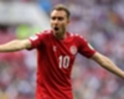 denmark 2 wales 0: eriksen double punishes visitors