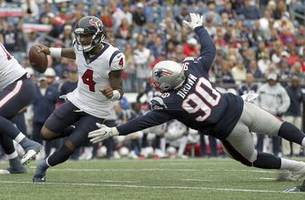 mathieu (int, fumble recovery) excels in texans' loss