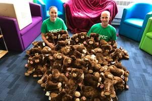 build-a-bear to donate 100 bears to grimsby children for national teddy bear day