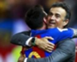 modric? messi is the best in the world - luis enrique