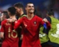 'portugal strong with or without ronaldo' - mancini