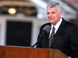 muslim group calls for home office to deny billy graham's son entry to uk