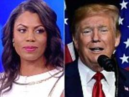 omarosa releases a tape she made of trump raging on hillary clinton