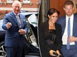 prince charles is 'closer than ever' to prince harry and meghan markle