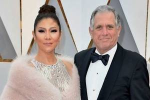 les moonves' wife julie chen to skip season 9 premiere of cbs' 'the talk' to 'be with my family'