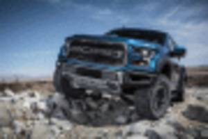 2019 Ford F-150 Raptor's new Trail Control is ideal for rock crawling