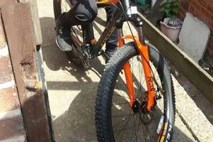 thug waves knife at schoolboy and takes £350 carrera mountain bike in great barr