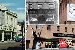 looking back at more than 100 years of marks and spencer in grimsby from its penny bazaar days to victoria street