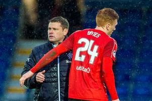 former rangers boss graeme murty accused of lying about why david bates left ibrox