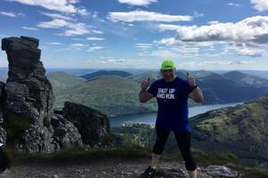 Paisley marathon man aims to hit the heights with gruelling five peaks challenge