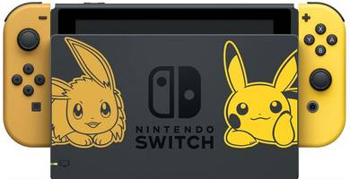 pokémon: let's go! receives adorable special-edition switch