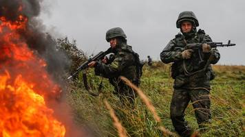 russia launches its biggest war games since cold war