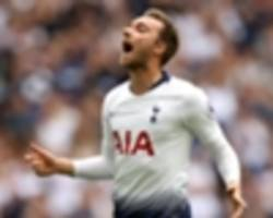 eriksen: i want to replicate denmark scoring form with spurs