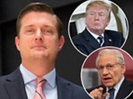 trump fumes in private that rob porter betrayed him as 'major' bob woodward source