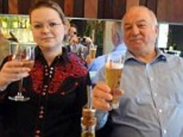 poisoned yulia skripal had gone to salisbury to tell russian spy father she was planning to marry