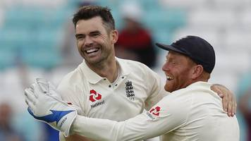 anderson secures victory - and test bowling record