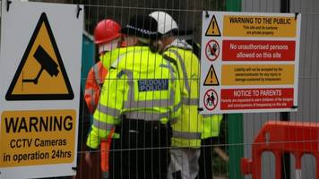 unexploded 'bomb' at costa coffee site in milford haven