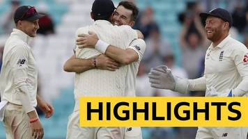 england v india highlights: james anderson breaks wicket-taking record as hosts complete 4-1 series win