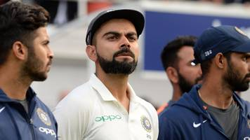 virat kohli says india have not been outplayed by england