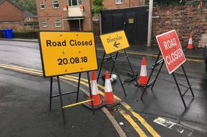 'they have had six weeks to do these roadworks - why do them now?' - parents slam timing as school warns closure will cause chaos