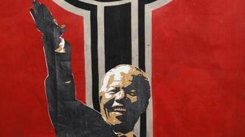 south african artist defends 'nazi mandela' work