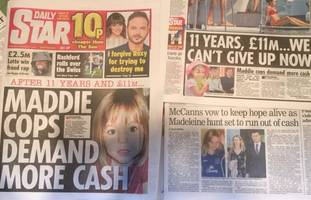 madeleine mccann: more police, more pr and more money or else