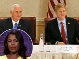 omarosa thinks pence's aid nick ayers penned nyt op-ed