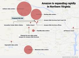 the evidence is piling up that amazon will choose washington, dc, for its hq2 (amzn)