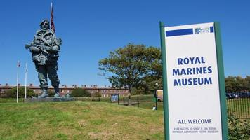 royal marines museum relocation plan delayed