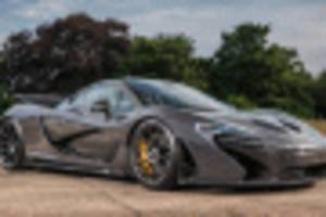 jensen button's mclaren p1 for sale