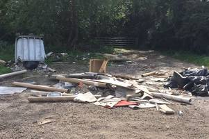 brentwood pub owner demands urgent action to remove fly-tipping from outside pub