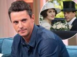 downton abbey star matthew goode admits film will have a 'lot of great new faces'