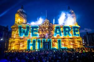 a huge lights festival similar to iconic 'made in hull' is coming this winter