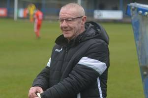 leek town boss neil baker wants to see a big improvement when ramsbottom visit harrison park
